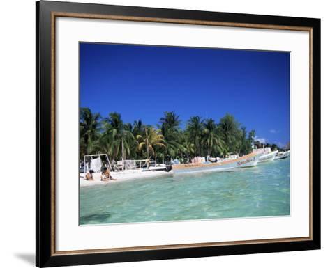 Isla Mujeres, Yucatan, Mexico, North America-Nelly Boyd-Framed Art Print