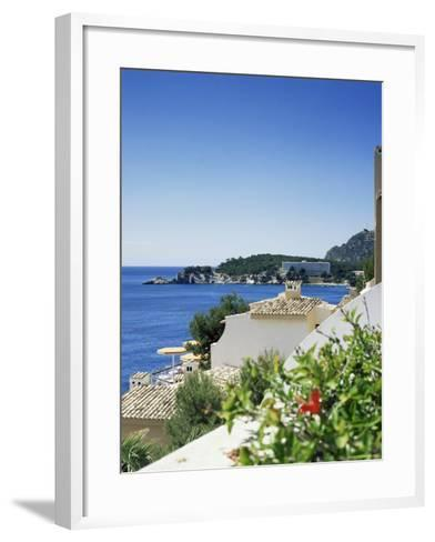 Cala Fornella, Majorca, Balearic Islands, Spain, Mediterranean-L Bond-Framed Art Print