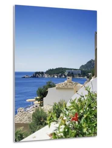Cala Fornella, Majorca, Balearic Islands, Spain, Mediterranean-L Bond-Metal Print