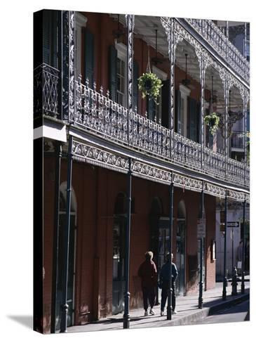 French Quarter, New Orleans, Louisiana, United States of America (Usa), North America-Charles Bowman-Stretched Canvas Print
