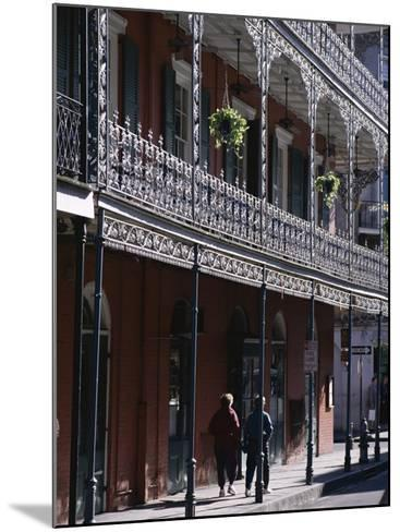 French Quarter, New Orleans, Louisiana, United States of America (Usa), North America-Charles Bowman-Mounted Photographic Print