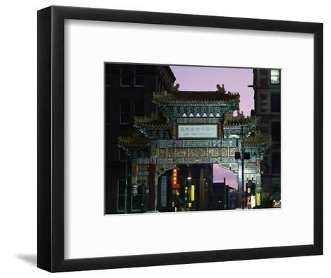 China Town, Manchester, England, United Kingdom-Charles Bowman-Framed Art Print