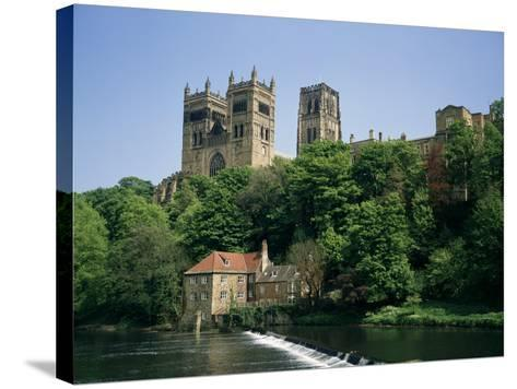 Durham Cathedral, Unesco World Heritage Site, Durham, County Durham, England, United Kingdom-Charles Bowman-Stretched Canvas Print
