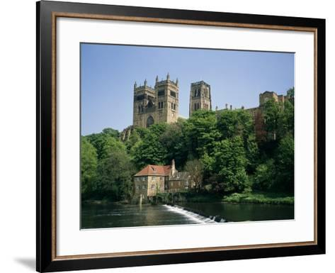 Durham Cathedral, Unesco World Heritage Site, Durham, County Durham, England, United Kingdom-Charles Bowman-Framed Art Print