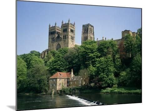 Durham Cathedral, Unesco World Heritage Site, Durham, County Durham, England, United Kingdom-Charles Bowman-Mounted Photographic Print