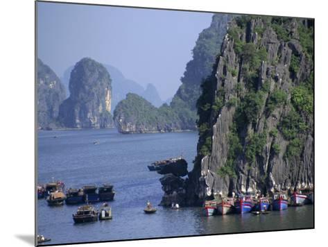 Ha Long (Ha-Long) Bay, Unesco World Heritage Site, Vietnam, Indochina, Southeast Asia-Charles Bowman-Mounted Photographic Print
