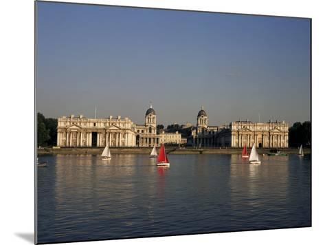Royal Naval College, Greenwich, Unesco World Heritage Site, London, England, United Kingdom-Charles Bowman-Mounted Photographic Print