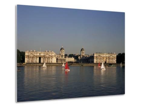 Royal Naval College, Greenwich, Unesco World Heritage Site, London, England, United Kingdom-Charles Bowman-Metal Print