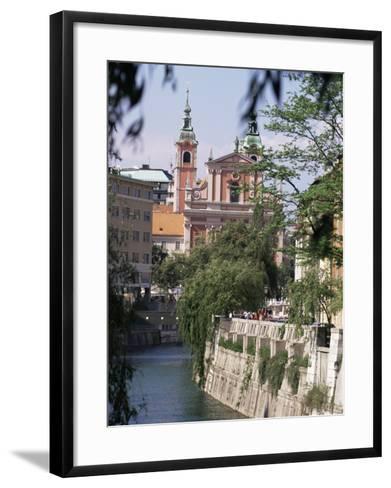 Ljubliana, Slovenia-Charles Bowman-Framed Art Print