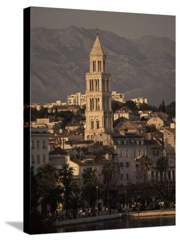 Split, Croatia-Charles Bowman-Stretched Canvas Print