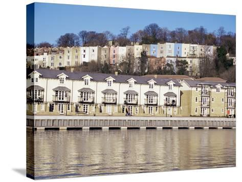 Floating Harbour, Bristol, England, United Kingdom-Charles Bowman-Stretched Canvas Print