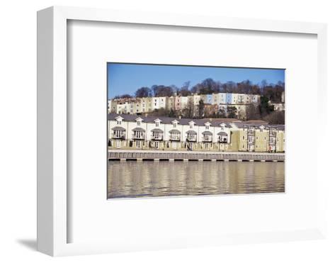 Floating Harbour, Bristol, England, United Kingdom-Charles Bowman-Framed Art Print
