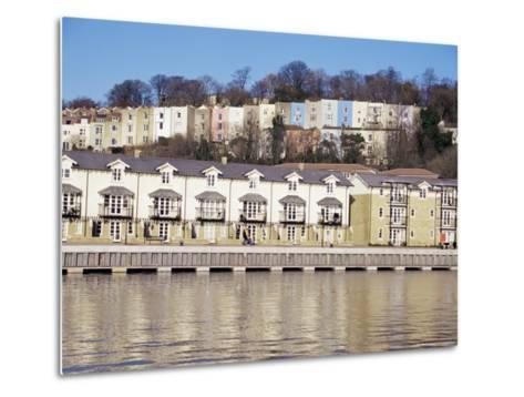 Floating Harbour, Bristol, England, United Kingdom-Charles Bowman-Metal Print