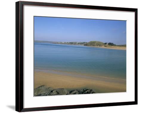 Camel River Estuary, Cornwall, England, United Kingdom-Charles Bowman-Framed Art Print