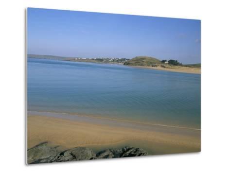 Camel River Estuary, Cornwall, England, United Kingdom-Charles Bowman-Metal Print