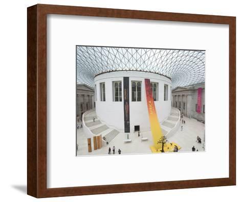 Great Court, British Museum, London, England, United Kingdom-Charles Bowman-Framed Art Print