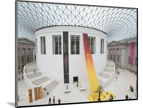 Great Court, British Museum, London, England, United Kingdom-Charles Bowman-Mounted Photographic Print