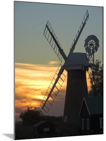 Thurne Broad, Norfolk, England, United Kingdom-Charles Bowman-Mounted Photographic Print