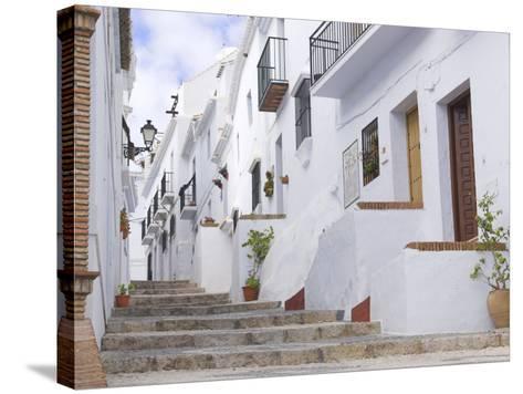 Frigiliana, Andalucia, Spain-Charles Bowman-Stretched Canvas Print