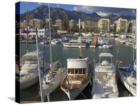 Marbella, Costa Del Sol, Andalucia, Spain-Charles Bowman-Stretched Canvas Print