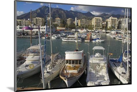 Marbella, Costa Del Sol, Andalucia, Spain-Charles Bowman-Mounted Photographic Print