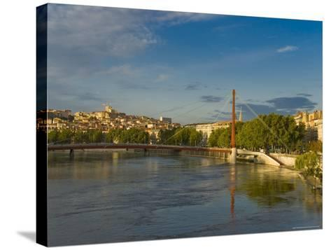 Lyons, Rhone, France-Charles Bowman-Stretched Canvas Print