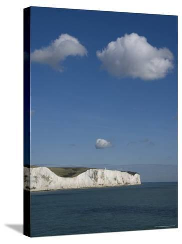 White Cliffs of Dover, Dover, Kent, England, United Kingdom-Charles Bowman-Stretched Canvas Print