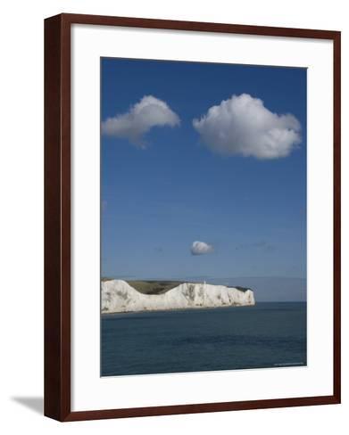 White Cliffs of Dover, Dover, Kent, England, United Kingdom-Charles Bowman-Framed Art Print