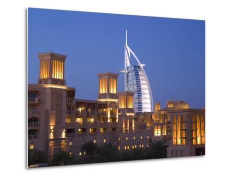 Dubai, United Arab Emirates, Middle East-Charles Bowman-Metal Print