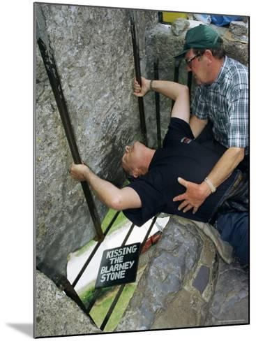 Kissing the Blarney Stone, County Cork, Munster, Eire (Republic of Ireland)-Julia Bayne-Mounted Photographic Print