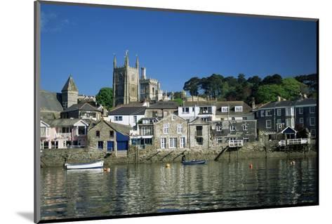 Waterfront, Fowey, Cornwall, England, United Kingdom-Julia Bayne-Mounted Photographic Print