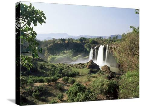 Tis Abay Waterfall on the Blue Nile, Ethiopia, Africa-Julia Bayne-Stretched Canvas Print