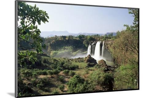 Tis Abay Waterfall on the Blue Nile, Ethiopia, Africa-Julia Bayne-Mounted Photographic Print