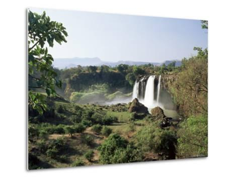 Tis Abay Waterfall on the Blue Nile, Ethiopia, Africa-Julia Bayne-Metal Print