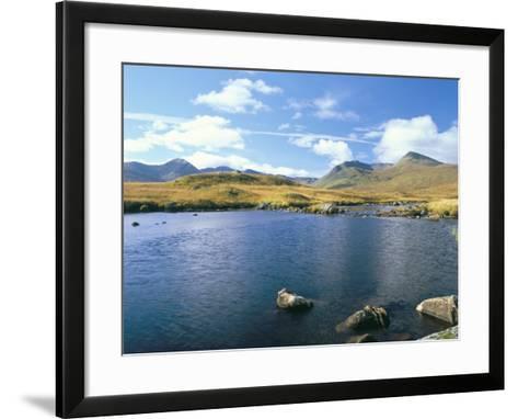 Loch Ba and the Black Mountains in Autumn, Rannoch Moor, Scotland-Pearl Bucknall-Framed Art Print