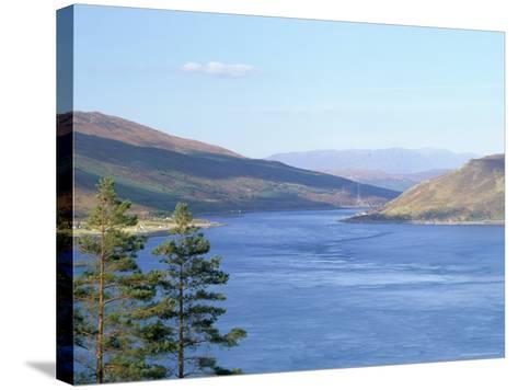 Kyle Rhea and Glenelg Bay, Glenelg, Scotland-Pearl Bucknall-Stretched Canvas Print