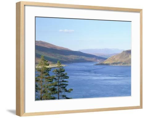 Kyle Rhea and Glenelg Bay, Glenelg, Scotland-Pearl Bucknall-Framed Art Print