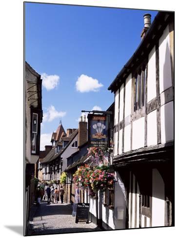 Church Lane, Ledbury, Herefordshire, England, United Kingdom-Jean Brooks-Mounted Photographic Print