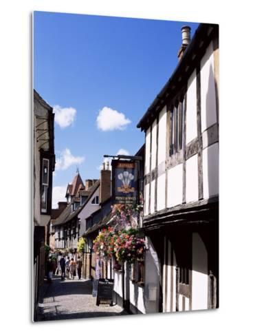 Church Lane, Ledbury, Herefordshire, England, United Kingdom-Jean Brooks-Metal Print