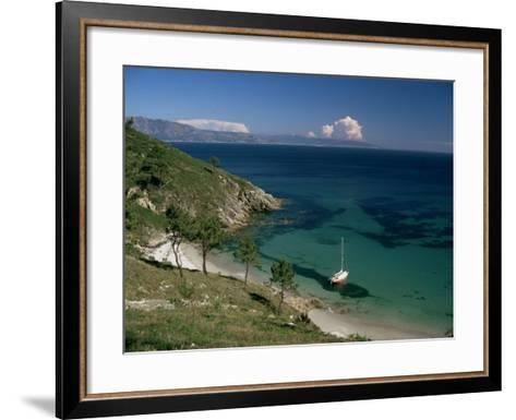Cape Finisterre, Galicia, Spain-Michael Busselle-Framed Art Print