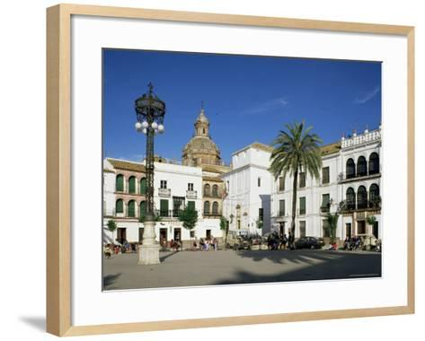 Main Square, Carmona, Seville Area, Andalucia, Spain-Michael Busselle-Framed Art Print
