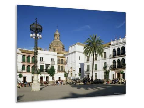 Main Square, Carmona, Seville Area, Andalucia, Spain-Michael Busselle-Metal Print