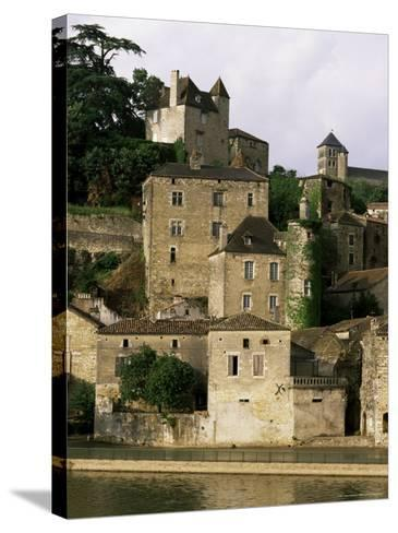 Village of Puy Leveque, Near Cahors, Lot, Midi-Pyrenees, France-Michael Busselle-Stretched Canvas Print