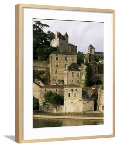 Village of Puy Leveque, Near Cahors, Lot, Midi-Pyrenees, France-Michael Busselle-Framed Art Print