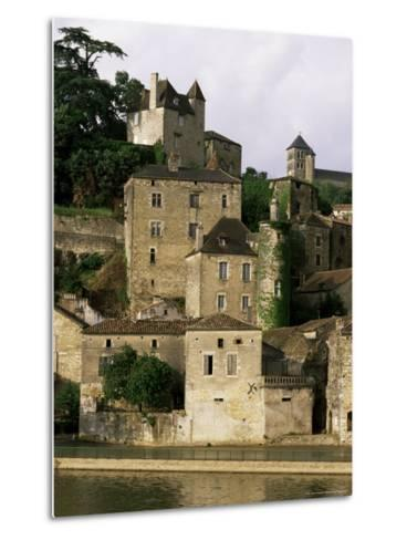 Village of Puy Leveque, Near Cahors, Lot, Midi-Pyrenees, France-Michael Busselle-Metal Print