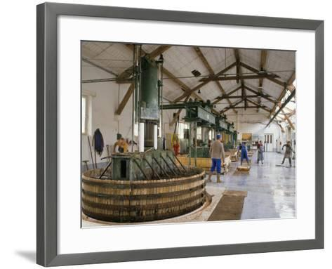 Champagne Wine Presses, Verzy, Champagne Ardennes, France-Michael Busselle-Framed Art Print