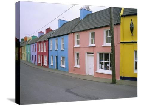 Eyeries Village, Beara Peninsula, County Cork, Munster, Eire (Ireland)-Bruno Barbier-Stretched Canvas Print