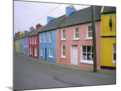 Eyeries Village, Beara Peninsula, County Cork, Munster, Eire (Ireland)-Bruno Barbier-Mounted Photographic Print