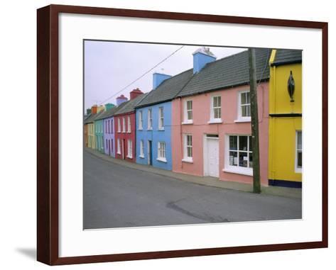Eyeries Village, Beara Peninsula, County Cork, Munster, Eire (Ireland)-Bruno Barbier-Framed Art Print