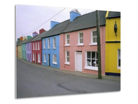 Eyeries Village, Beara Peninsula, County Cork, Munster, Eire (Ireland)-Bruno Barbier-Metal Print